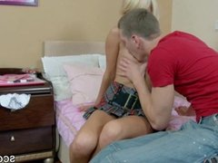 Step-Bro caught Virgin Sister and Fuck