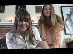 OTK girls spank the bad boy part one POV over the knee paddling