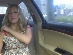 StrandedTeens - Blonde teen is down on her luck and needs a fuck