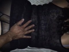 Doggystyle - pounding Latina from behind