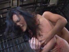 Japanese Tranny First bondage fuck #4