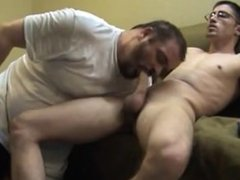 straight guy gets sucked off