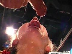 MILF Gina anal fucked