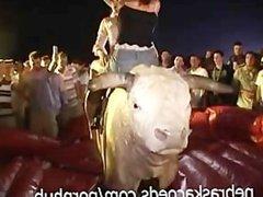 Topless Bull Riding Spring Break
