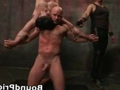 Brenn and Chad in extreme gay bondage part6