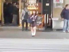 Mikan Lovely Asian schoolgirl part3