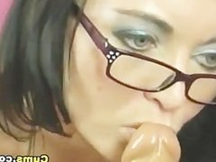 Coed Teen Babe Dildo Orgasm
