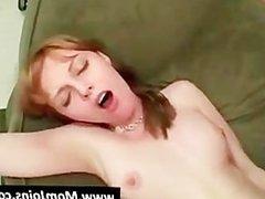 .Horny stud fucks both mom and daughter