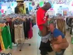 Thug gets fucked by muscled white guy part2