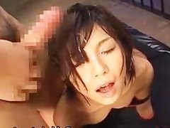 Azumi Harusaki Hot Asian chick gets part4