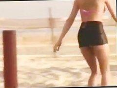 Sara St. James Roller skates naked