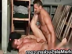 Very hot gay men fucking and sucking part3