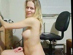 German Camgirl Blond_hot Webcam Masturbation