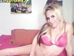 Busty Cute Coed Blonde HD