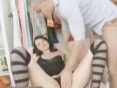 Long Legs And Hard Anal Fucking
