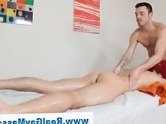 Straight guy gets dildo up his ass