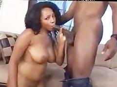 Kandee Lixxx black ebony cumshots ebony swallow interracial