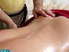 Masseur & client go totally gay