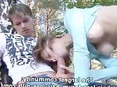 Sexy teens making great blowjob
