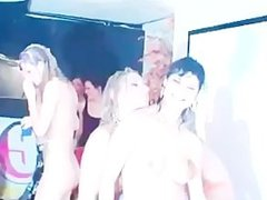 Interracial sex dance with white sluts