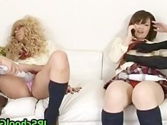 A wild foursome pussy stimulation part6