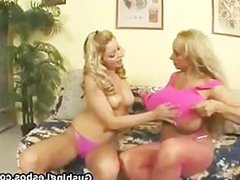 Mature lesbo slut gets fucked with dildo part4
