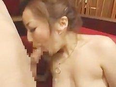 Japanese blowjob and cumplay