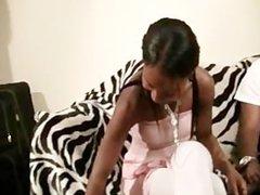 Sexy Ebony Teen fucked good