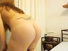 Big Natural Titted Amateur Girl Giving A Sex Show On Webcam