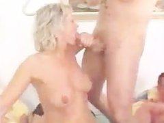 hot sexparty orgy facials cum swallow eating creampie gangbang (