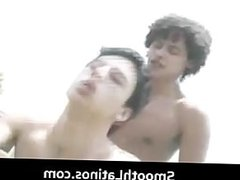 Gay clip Mexican twinks go gay bareback part4