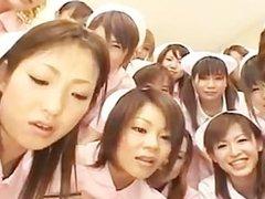 Asian nurses enjoy sex on top part4