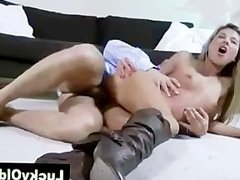 Older guy fucks Russian blonde and is filmed by wife