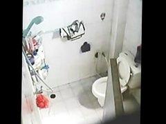 cutie caught masturbating bathroom spycam