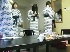 Funny japanese chicks and horny gangbang 2 part3