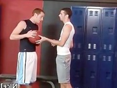 Sexy jocks fuck and suck gay video part3