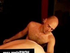 Gay dude gets his tattooed ass fisted part6