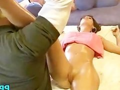 Sexy sexy takes her big natural tits
