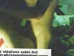 Amateur College Couple on Webcam