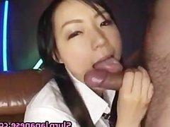 Naughty Asian School Girl Sucking Cock part3