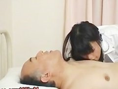 Japanese doctor is horny for cock part6