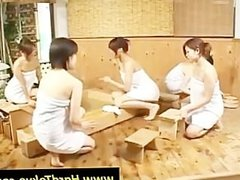 Asian tramps showing assets