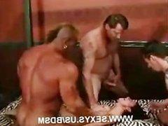 Bondage cock fest