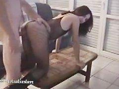 My slut Brigit fucked and facialized