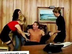 Young man boss punished