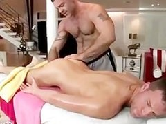 Lucky guy gets great massage 4 By GotRub part1
