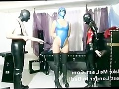 Slave girls teased with objects