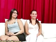 Cfnm babes watch guy play with his cock in reality sexparty