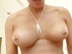 Rachel Starr eats cock and balls! POV