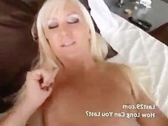 blonde gets fucked pov style